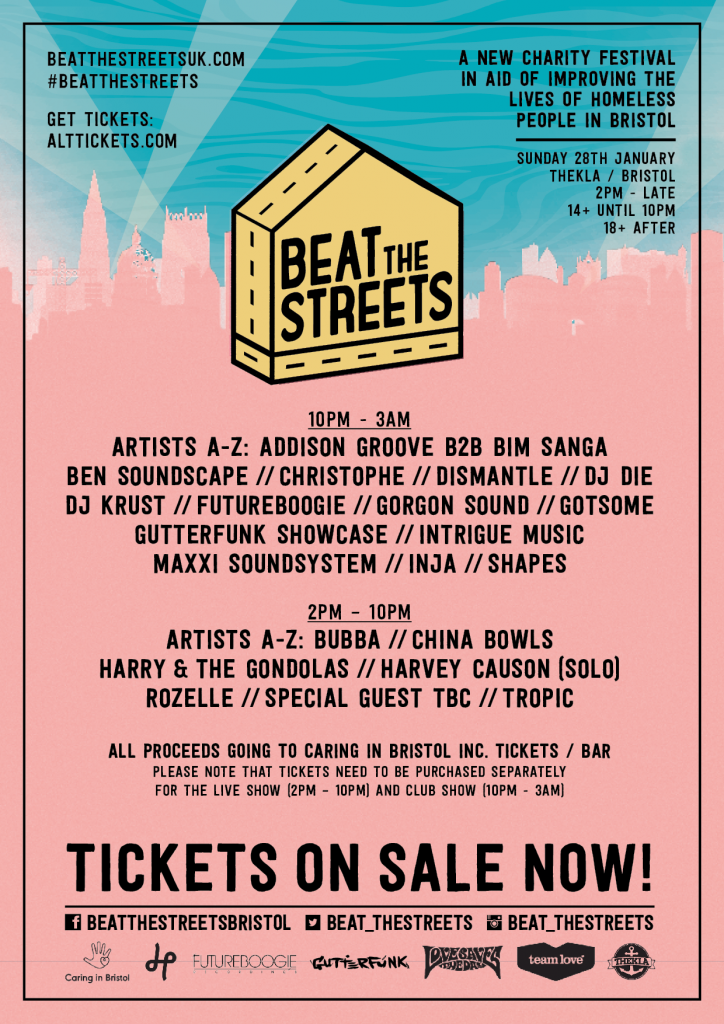 Beat The Streets Bristol announces line-up