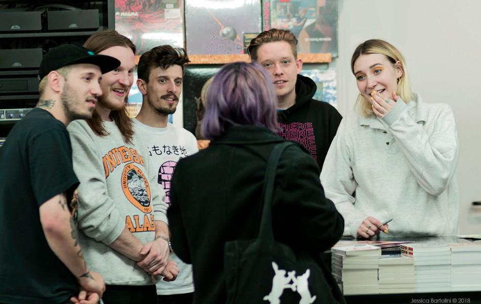 Fickle Friends Photoset - Rough Trade Bristol 8