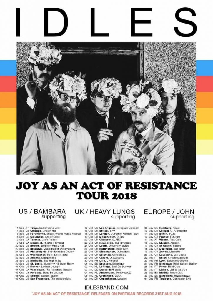 Idles announce new album Joy As An Act Of Resistance 2