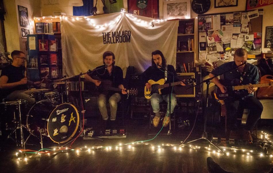 The Malago Ballroom EP Launch Review - Hydra Bookshop