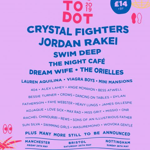 Dot to Dot announce first wave of acts