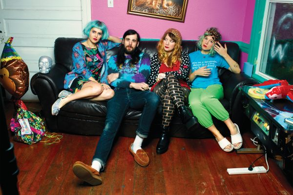 Tacocat Share Sparkly Ultraviolet Visuals for 'Talk'