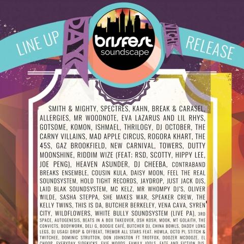 Brisfest Soundscape Line-Up Announced