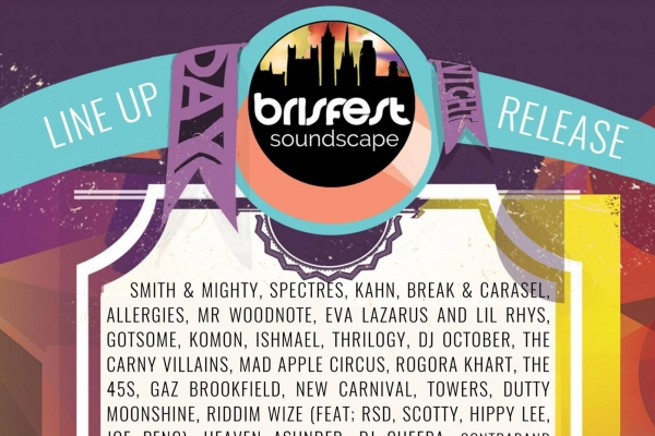 Brisfest Soundscape Line-Up Announced