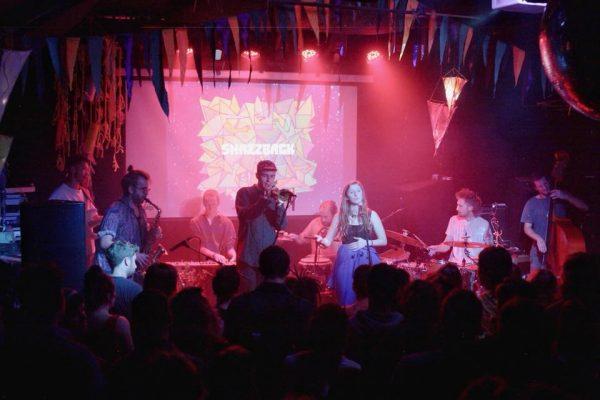 Snazzback share live video performing track 'Mr Frimp' 1