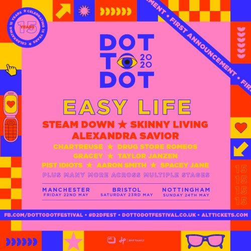 Dot to Dot Festival Line- Up Announcement 2020 1